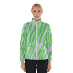 Skin3 White Marble & Green Watercolor Winterwear