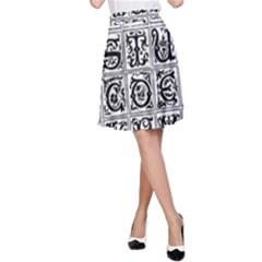 Abc 1 A Line Skirt