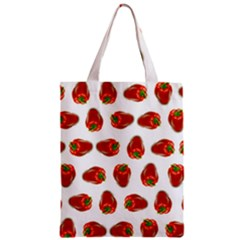 Red Peppers Pattern Classic Tote Bag