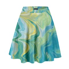 Melting High Waist Skirt by lwdstudio