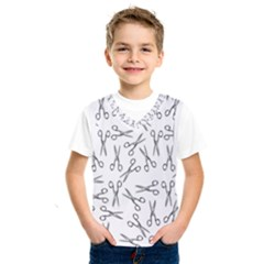 Scissors Pattern Kids  Sportswear