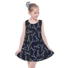 Scissors Pattern Kids  Summer Dress