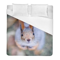 Squirrel Looks At You Duvet Cover (full/ Double Size) by FunnyCow