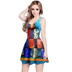 Soup Cans   After The Lunch Reversible Sleeveless Dress