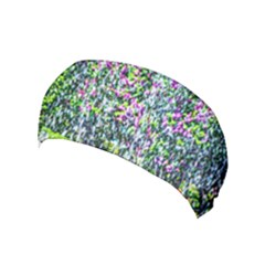 Lilacs Of The First Water Yoga Headband by FunnyCow