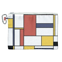 Neoplasticism Style Art Canvas Cosmetic Bag (xl) by FunnyCow