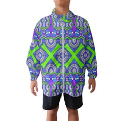 Purple Green Shapes                                        Wind Breaker (kids)