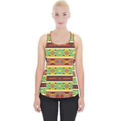 Ovals Rhombus And Squares                                   Piece Up Tank Top