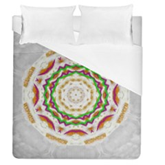 Fauna In Bohemian Midsummer Style Duvet Cover (queen Size) by pepitasart