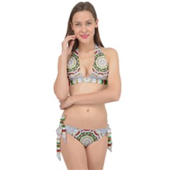 Fauna In Bohemian Midsummer Style Tie It Up Bikini Set