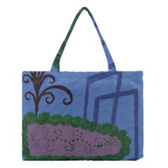 Purple Shoe Medium Tote Bag by snowwhitegirl