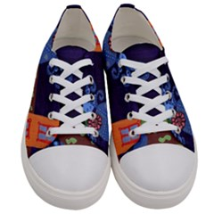 Jack In The Box Flower Women s Low Top Canvas Sneakers