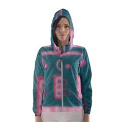 A Pink Dream Hooded Windbreaker (women)