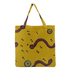 Swimming Worms Grocery Tote Bag
