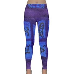 Save The Butterfly Egg Classic Yoga Leggings