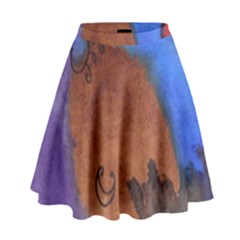 Creepy Castle High Waist Skirt
