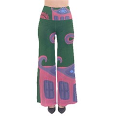 The Biggest Pink House So Vintage Palazzo Pants