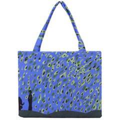 Raining Leaves Mini Tote Bag