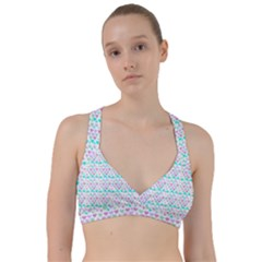 Hearts Butterflies White 1200 Sweetheart Sports Bra