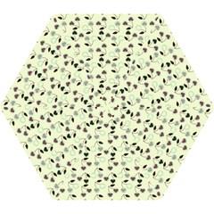 Heart Cherries Mint Mini Folding Umbrellas