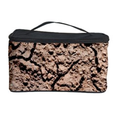 Earth  Light Brown Wet Soil Cosmetic Storage Case
