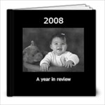 black and white photo book - 8x8 Photo Book (20 pages)