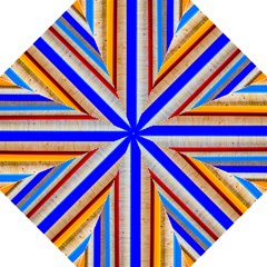 Colorful Wood And Metal Pattern Hook Handle Umbrellas (medium)