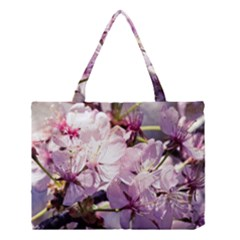 Sakura In The Shade Medium Tote Bag