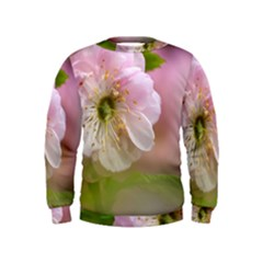 Single Almond Flower Kids  Sweatshirt