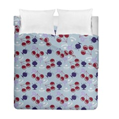 Sky Cherry Duvet Cover Double Side (full/ Double Size) by snowwhitegirl