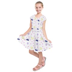 Cakes And Sundaes Kids  Short Sleeve Dress