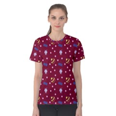 Cakes And Sundaes Red Women s Cotton Tee