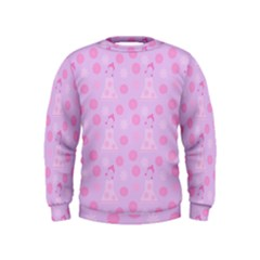 Lilac Dress Kids  Sweatshirt