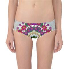 Fauna Fantasy Bohemian Midsummer Flower Style Classic Bikini Bottoms
