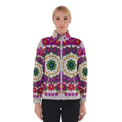 Fauna Fantasy Bohemian Midsummer Flower Style Winter Jacket