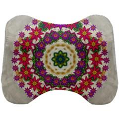 Fauna Fantasy Bohemian Midsummer Flower Style Head Support Cushion