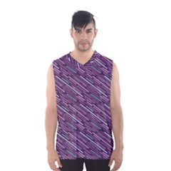 Silly Stripes Men s Basketball Tank Top