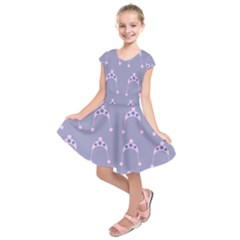 Pink Hat Kids  Short Sleeve Dress