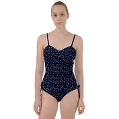 Blue Hearts Sweetheart Tankini Set