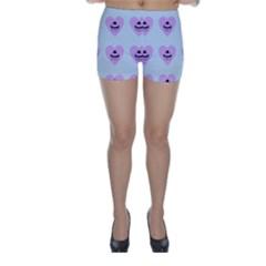 Blue Cupcake Skinny Shorts