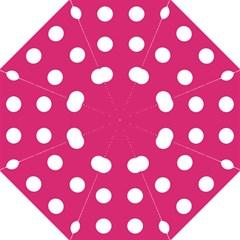 Pink Dot Folding Umbrellas