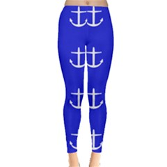 Royal Anchors Leggings