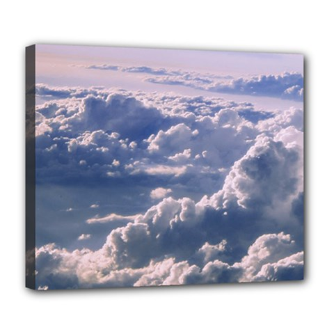 In The Clouds Deluxe Canvas 24  X 20