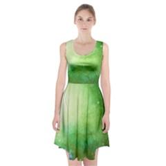 Galaxy Green Racerback Midi Dress