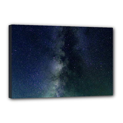 Galaxy Sky Canvas 18  X 12