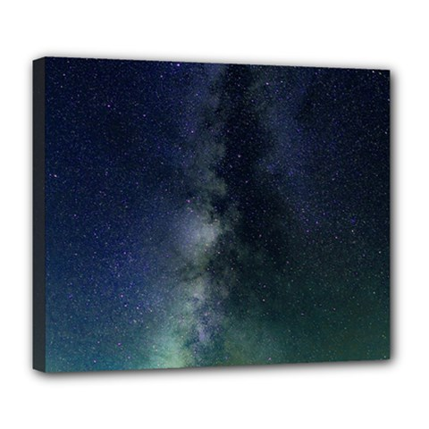 Galaxy Sky Deluxe Canvas 24  X 20