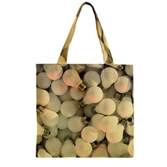 Bulbs Zipper Grocery Tote Bag