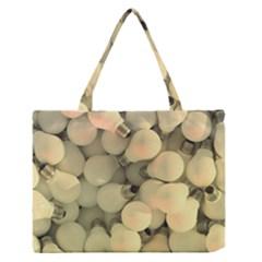 Bulbs Zipper Medium Tote Bag