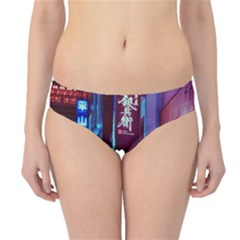 Japan City Hipster Bikini Bottoms