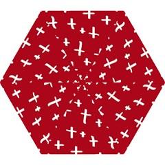 Red White Cross Mini Folding Umbrellas